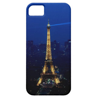 Paris Eifel Tower At Night Barely There iPhone 5 Case