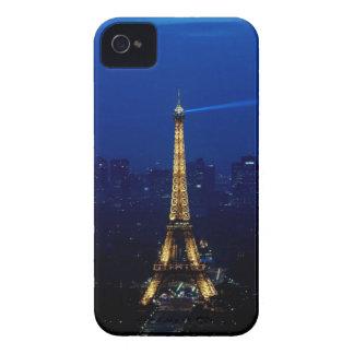 Paris Eifel Tower At Night Case-Mate iPhone 4 Cases