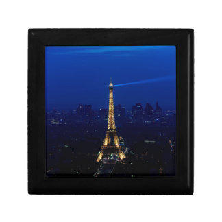 Paris Eifel Tower At Night Gift Box