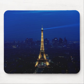 Paris Eifel Tower At Night Mouse Mat