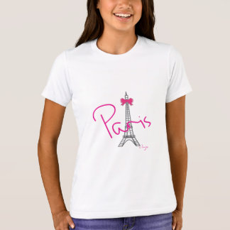 Paris Eiffel Tower, Bow, Cool T-Shirt