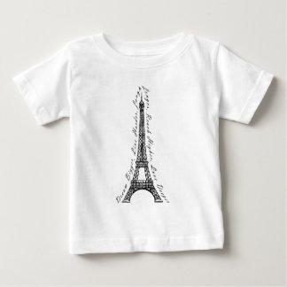Paris Eiffel Tower Dream Bigger Inspirational T-shirts