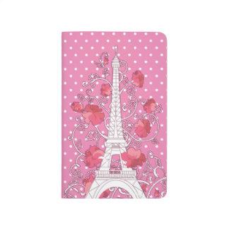 Paris Eiffel tower elegant stylish silhouette Journal
