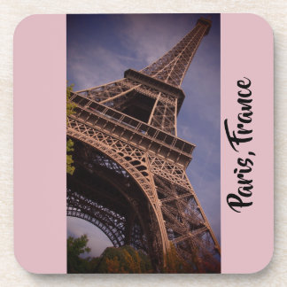 Paris Eiffel Tower Famous Landmark Photo Coaster