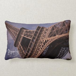 Paris Eiffel Tower Famous Landmark Photo Lumbar Cushion
