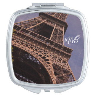 Paris Eiffel Tower Famous Landmark Photo Mirrors For Makeup