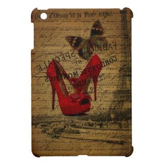 Paris eiffel tower fashionista red stilettos case for the iPad mini