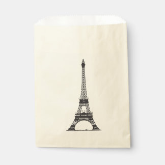 Paris Eiffel Tower Favour Bags