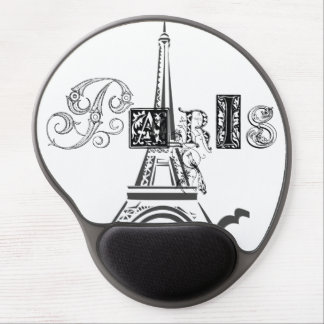 Paris Eiffel Tower Gel Mouse Mat