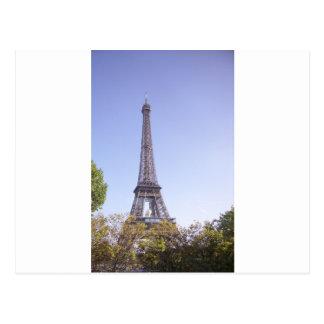 Paris Eiffel Tower greeting card Postcard