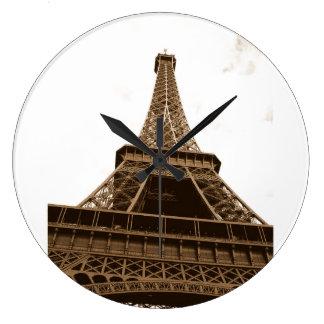 Paris - Eiffel Tower - I Love Paris - France Wallclock