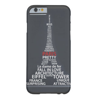 Paris Eiffel Tower iPhone 6 case Barely There iPhone 6 Case