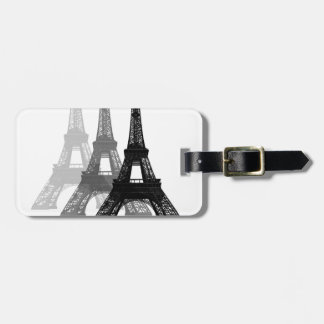 Paris Eiffel Tower Luggage Tag