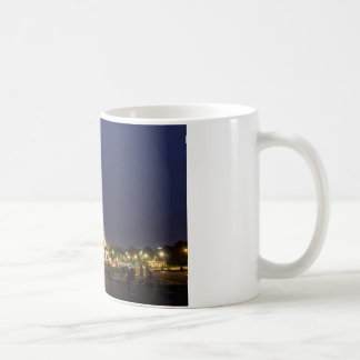 Paris Eiffel Tower Night Lights Coffee Mug