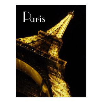Paris Eiffel Tower Notecard Postcard