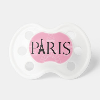 Paris Eiffel Tower Pacifier