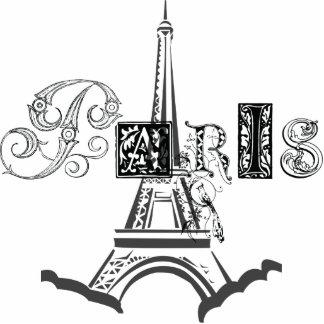 Paris Eiffel Tower Photo Sculptures
