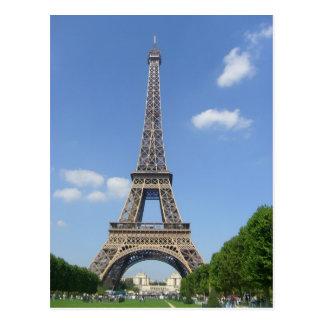 Paris - Eiffel Tower - Postcard