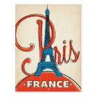 Paris  - Eiffel Tower Postcard