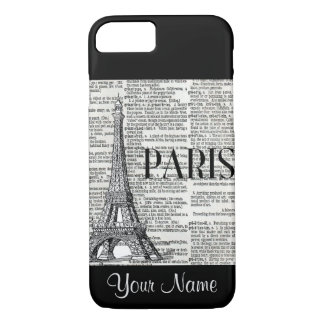 Paris Eiffel Tower Trendy Iphone Case