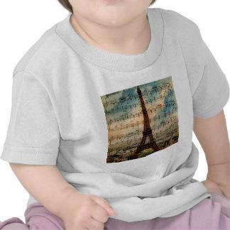 Paris Eiffel Tower T Shirt