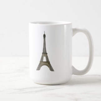 Paris: Eiffel Tower: Vector Drawing: Coffee Mug