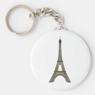 Paris: Eiffel Tower: Vector Drawing: Key Ring