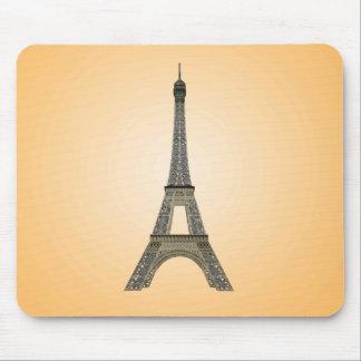 Paris: Eiffel Tower: Vector Drawing: Mousepad