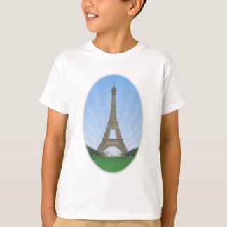Paris: Eiffel Tower: Vector Drawing: T-Shirt
