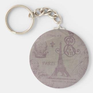 Paris -- Eiffle Tower Key Ring