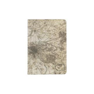 Paris environs passport holder