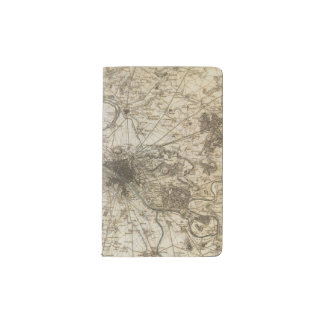 Paris environs pocket moleskine notebook