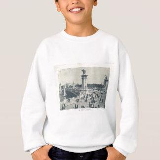 Paris Expo 1900, Le pont ALexandre III Sweatshirt