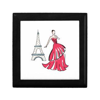 PARIS FASHION MODEL KEEPSAKE BOX