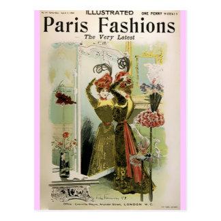 Paris Fashions II  ~ Postcard Fashion Plate