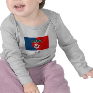Paris flag with name shirts