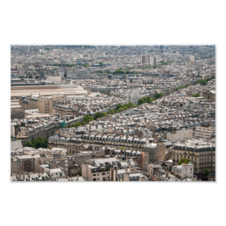 Paris Flattened Art Photo