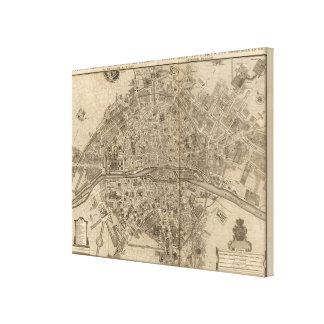 Paris France 2 Gallery Wrapped Canvas
