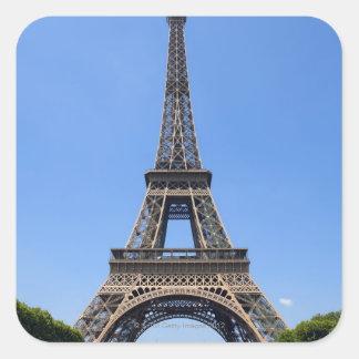 Paris, France 3 Square Sticker