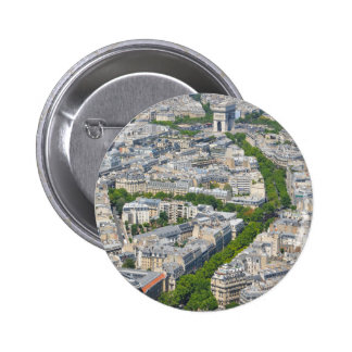 Paris, France 6 Cm Round Badge