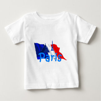 Paris France Baby T-Shirt