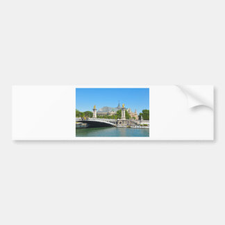 Paris, France Bumper Sticker