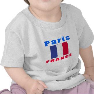 Paris France capital designs T Shirt