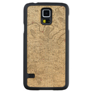Paris France Carved Maple Galaxy S5 Case