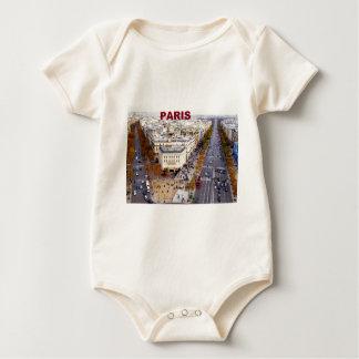 Paris France Champs Elysees (St.K) Baby Bodysuit