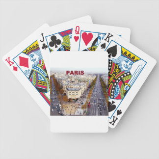 Paris France Champs Elysees (St.K) Bicycle Playing Cards