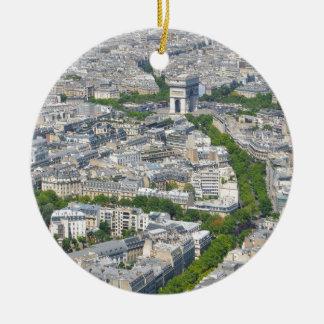 Paris, France Christmas Ornament