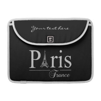Paris France custom MacBook sleeve
