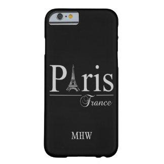 Paris France custom monogram phone cases