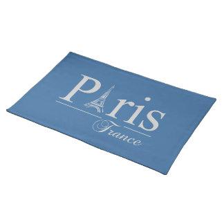 Paris France custom placemat - choose color